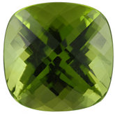Antique Square Genuine Peridot (Black Box)