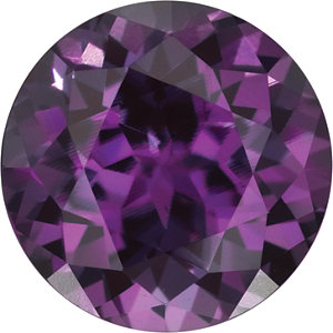 ac2c515f478af 6 mm Round Faceted Chatham Created Alexandrite   Stuller