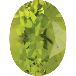Peridot Oval 0.25 carat Green Photo