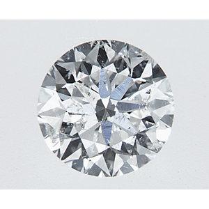 Round 0.30 carat F I1 Photo