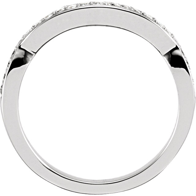 Twist-Style Engagement Ring or Band