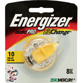 Energizer #10 Pack Of 8 Hearing Aid Batteries