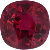 Antique Square Genuine Ruby (Black Box)