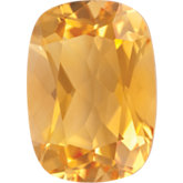 Antique Cushion Genuine Citrine