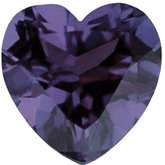 Heart Imitation Alexandrite