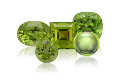 Genuine Peridot Gemstone Jewelry