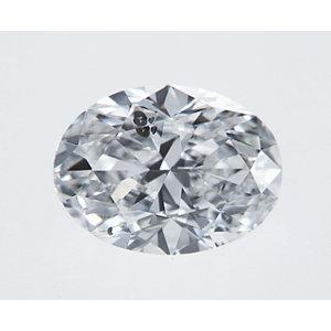 Oval 0.32 carat D I1 Photo