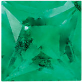 Square Genuine Emerald
