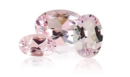Genuine Morganite Gemstone Jewelry