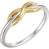 Infinity-Style Ring