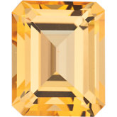 Emerald/Octagon SWAROVSKI GEMSTONES™ Genuine Honey Topaz