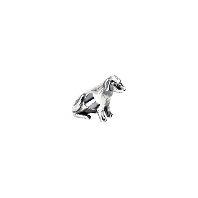 Sterling Silver Kera® Sterling Silver Dog Bead