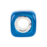 Kera® Turquoise Square Glass Bead