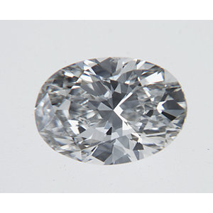 Oval 0.33 carat H SI1 Photo