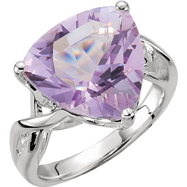 Rose De France Quartz Ring