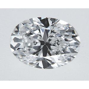 Oval 0.33 carat D SI1 Photo