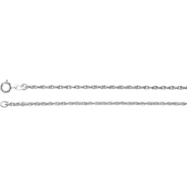 Sterling Silver 1.5mm Rope 16