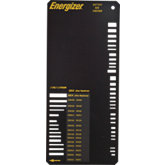 Energizer® Battery Size Checker