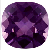Antique Square Imitation Amethyst