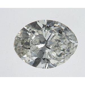 Oval 1.00 carat J SI1 Photo