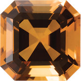 Asscher Genuine Citrine