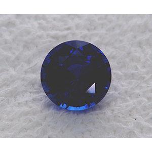 Sapphire Round 0.99 carat Blue Photo