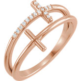 Sideways Cross Ring