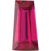 Tapered Baguette Genuine Ruby