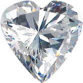 Heart Imitation Diamond