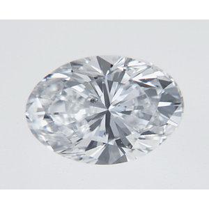 Oval 0.40 carat D I1 Photo