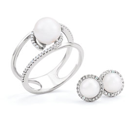 Mountings wholesale jewelry settings wholesale stuller pearl aloadofball Images