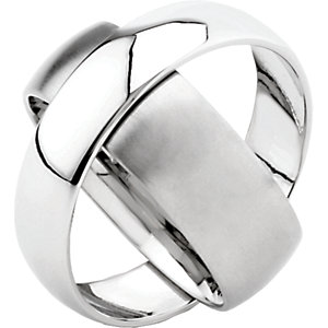 Titanium 6mm & 8mm Rotating Band Size 4