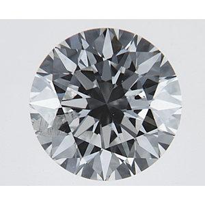 Round 0.70 carat F I1 Photo