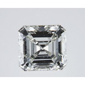 Asscher 1.01 carat I SI1 Photo
