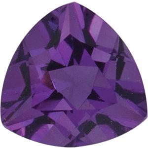 Amethyst Trillion 0.28 carat Purple Photo