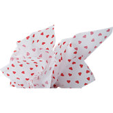 Hearts Gift Wrap Tissue