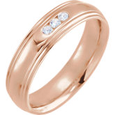 Accented Half Round Edge Band