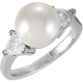 Accented Ring for Pearl