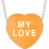 Sweethearts® Enameled Heart Necklace