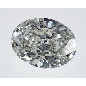 Oval 1.51 carat K I1 Photo
