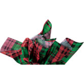 Plaid Gift Wrap Tissue