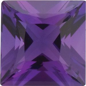 Amethyst Square 0.22 carat Purple Photo