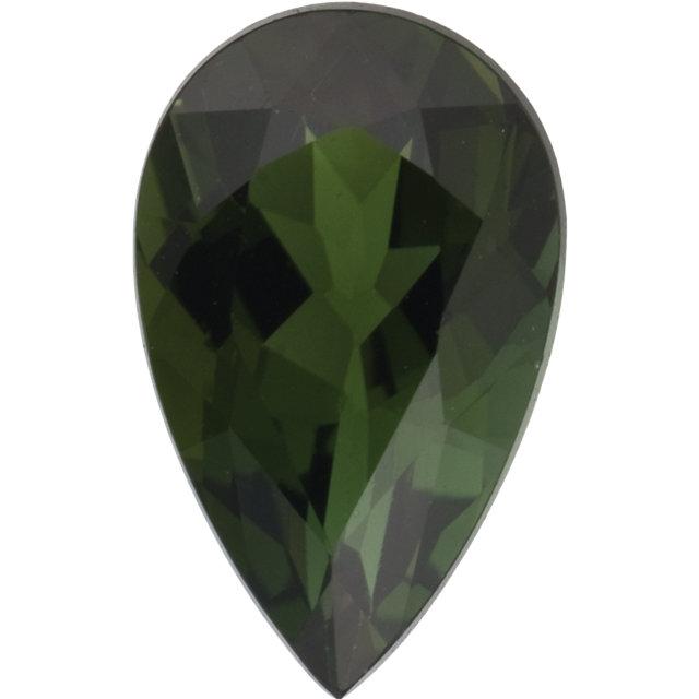 Tourmaline Pear 0.21 carat Green Photo