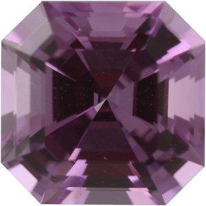 Sapphire Asscher 1.02 carat Pink Photo