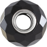 Kera® Faceted Black Onyx Natural Stone Bead
