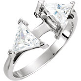 Accented Engagement Remount Base