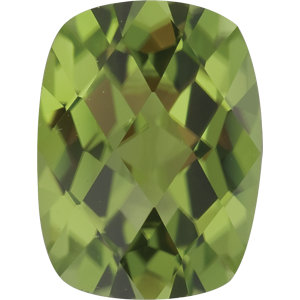 Peridot Cushion 1.45 carat Green Photo