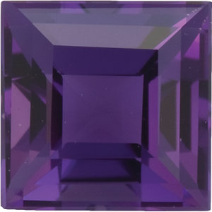 Amethyst Square 0.25 carat Purple Photo