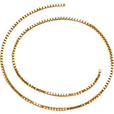 1.27mm Gold Filled Box Chain by the Inch