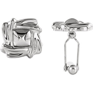 Cuff Links ,Platinum Left Cuff Link